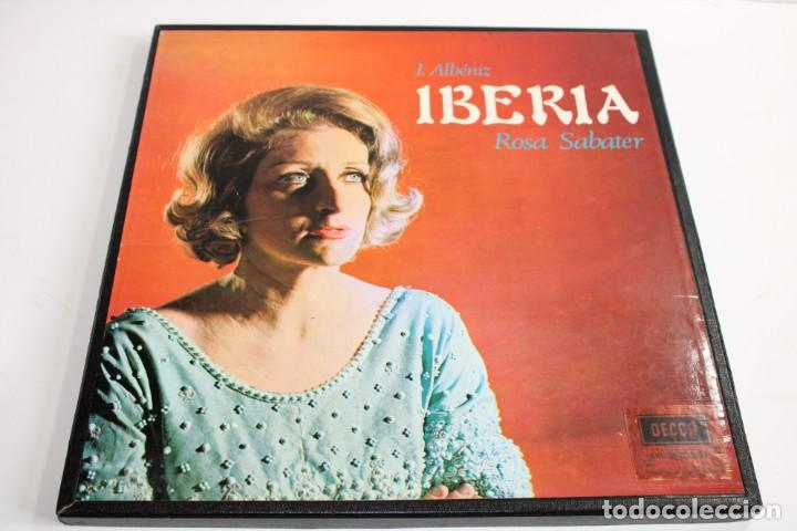 IBERIA / ROSA SABATER / I.ALBENIZ / 2 LP Y LIBRETO (Música - Discos - Singles Vinilo - Otros estilos)