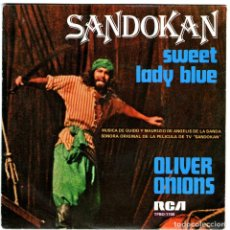 Discos de vinilo: SANDOKAN. Lote 204149912