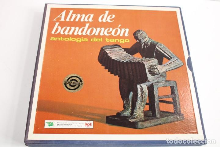 ALMA DE BANDONEON / ANTOLOGIA DEL TANGO / ESTUCHE CON 5 LPS (Música - Discos - Singles Vinilo - Otros estilos)