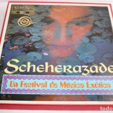Discos de vinilo: SCHEHERAZADE,UN FESTIVAL DE MUSICA EXOTICA 10 LP'S. Lote 204150828