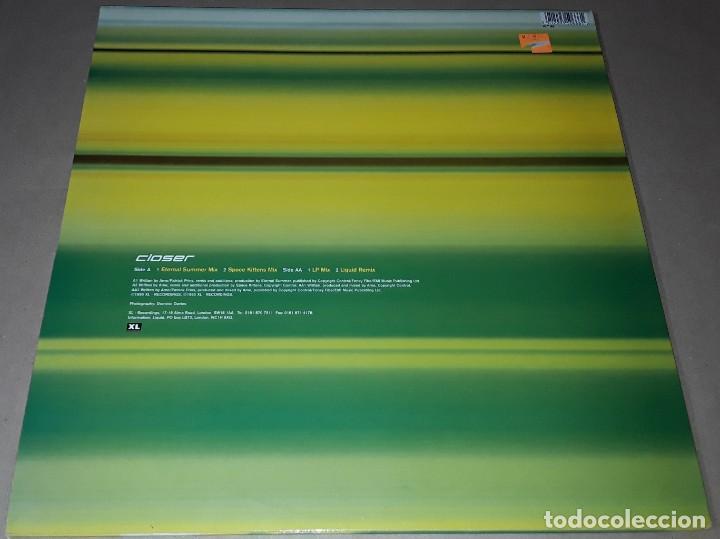 Discos de vinilo: MAXI SINGLE - LIQUID - CLOSER - MADE IN UK - LIQUID - CLOSER - Foto 2 - 204153400