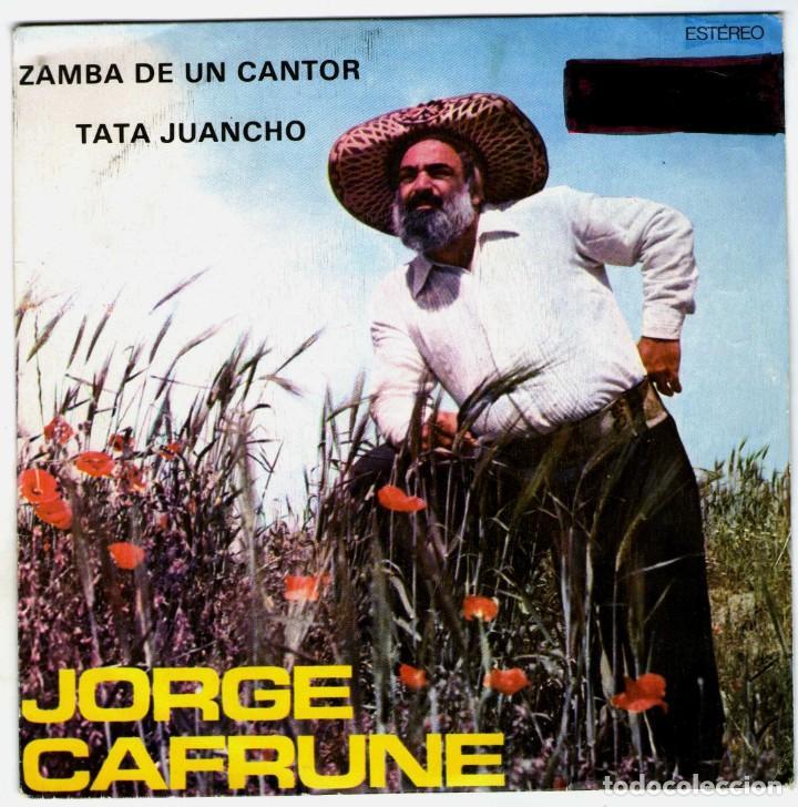 JORGE CAFRUNE (Música - Discos - Singles Vinilo - Grupos y Solistas de latinoamérica)