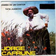 Discos de vinilo: JORGE CAFRUNE. Lote 204154028
