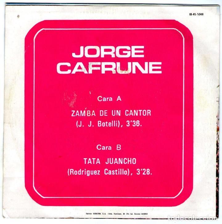 Discos de vinilo: JORGE CAFRUNE - Foto 2 - 204154028