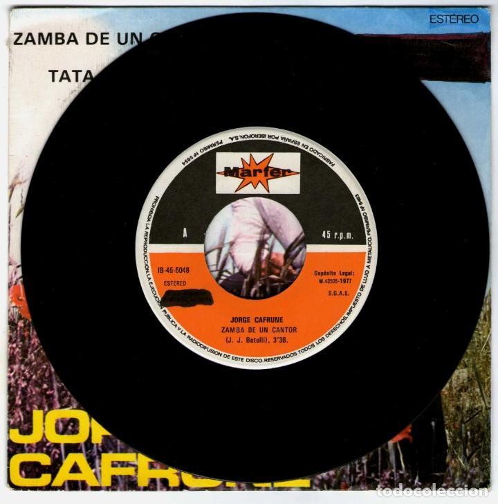 Discos de vinilo: JORGE CAFRUNE - Foto 3 - 204154028