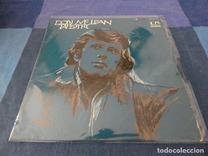 LP ESPAÑOL DON MC LEAN TAPESTRY 1973 ESTADO TAPA Y VINILO RESPETABLE (Música - Discos - LP Vinilo - Rock & Roll)