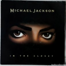 Discos de vinilo: MICHAEL JACKSON IN THE CLOSET. Lote 204156948