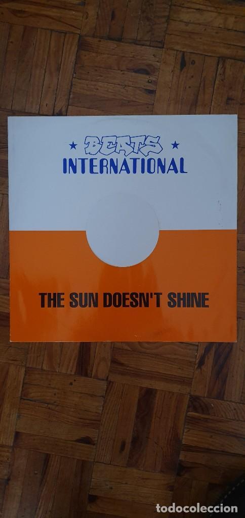 BEATS INTERNATIONAL – THE SUN DOESN'T SHINE SELLO: GO! BEAT – GODX 59, GO! BEAT – 869 521-1 FORMA (Música - Discos de Vinilo - Maxi Singles - Reggae - Ska)