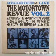 Discos de vinilo: MOTORTOWN REVUE: RECORDED LIVE VOL 2, 1964, ORG EDIT USA 1º PRESS MONO + INSERT MOTOWN, EXC. Lote 204164426