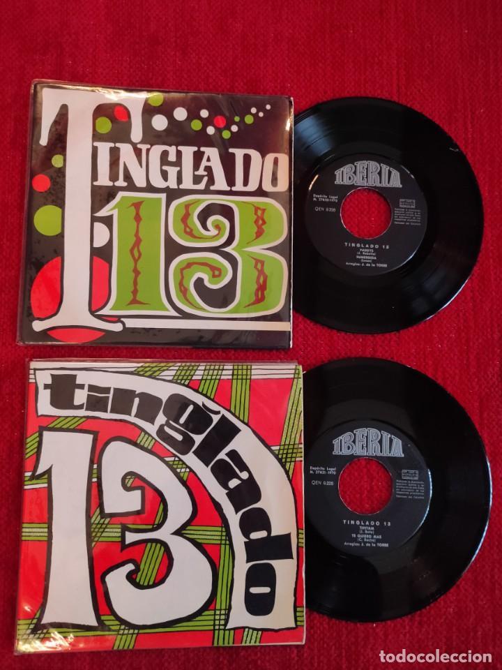 TINGLADO 13 / DOS VINILOS (Música - Discos de Vinilo - Maxi Singles - Grupos Españoles de los 70 y 80)