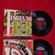 Discos de vinilo: TINGLADO 13 / DOS VINILOS. Lote 204166277