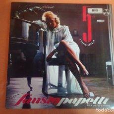 Discos de vinilo: LP - FAUSTO PAPETTI - SAX - 5 RACCOLTA - PALOBAL, VER FOTOS. Lote 204170010