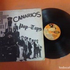 Discos de vinilo: LP, LO MEJOR DEL CLAN, CANARIOS - POP TOPS. SONOPLAY-1968 , VER FOTOS. Lote 204170655