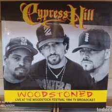 Discos de vinilo: CYPRESS HILL-WOODSTONED: LIVE AT THE WOODSTOCK FESTIVAL 1994 TV BROADCAST - LP NUEVO PRECINTADO. Lote 204172040