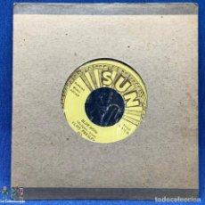 Discos de vinilo: SINGLE - SUN - BLUE MOON / MONEY HONEY - ELVIS PRESLEY - U 522 - LANZAMIENTO NO OFICIAL. Lote 204174733
