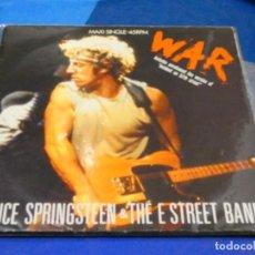 Discos de vinilo: WAR MAXI SINGLE BRUCE SPRINGSTEEN ESPAÑA 86 LINEAS FINAS, CIERTO USOACEPTABLE SEÑAL PEGATINA ATRAS. Lote 204176932