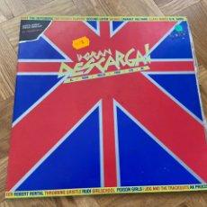 Discos de vinilo: LA GRAN DESCARGA DOBLE LP DE VINILO PUNK. Lote 204178970