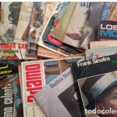 Discos de vinilo: DISCOS SINGLES, AÑOS 60-70 - LOTE 42 UNIDADES. Lote 204181010