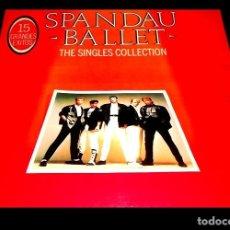 Discos de vinil: V866 - SPANDAU BALLET. THE SINGLES COLLECTION. LP VINILO. Lote 204181945