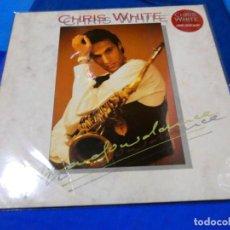 Discos de vinilo: CHRIS WHITE SAXOFONISTA DE LOS DIRE STRAITS SHADOWDANCE SANNI RECORDS 1991 MUY BUEN ESTADO. Lote 204182791