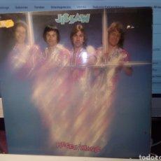 Discos de vinilo: ALEGRE Y PETARDESCO LP JIGSAW PIECES OF MAGIC UK 77 ADHESIVO EN TAPA DESCONCHON EN LABEL. Lote 204188197