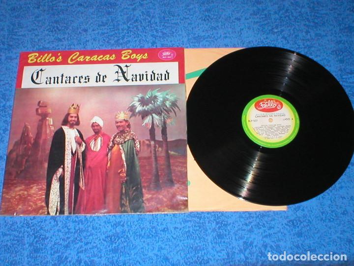 BILLO´S CARACAS BOYS VENEZUELA LP CANTARES DE NAVIDAD ORIGINAL 1964 LATIN FOLK SALSA CUMBIA RARO VER (Música - Discos - LP Vinilo - Grupos y Solistas de latinoamérica)