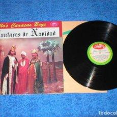 Discos de vinilo: BILLO´S CARACAS BOYS VENEZUELA LP CANTARES DE NAVIDAD ORIGINAL 1964 LATIN FOLK SALSA CUMBIA RARO VER. Lote 226065243