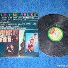 Discos de vinilo: BILLO´S CARACAS BOYS VENEZUELA LP BILLO Y SU MUSICA ORIGINAL 1965 FOLK SALSA CUMBIA BOLERO MIRA !. Lote 204191917