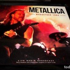 Discos de vinilo: V887 - METALLICA. WOODSTOCK 1994. LP VINILO. NUEVO PRECINTADO. Lote 204195296