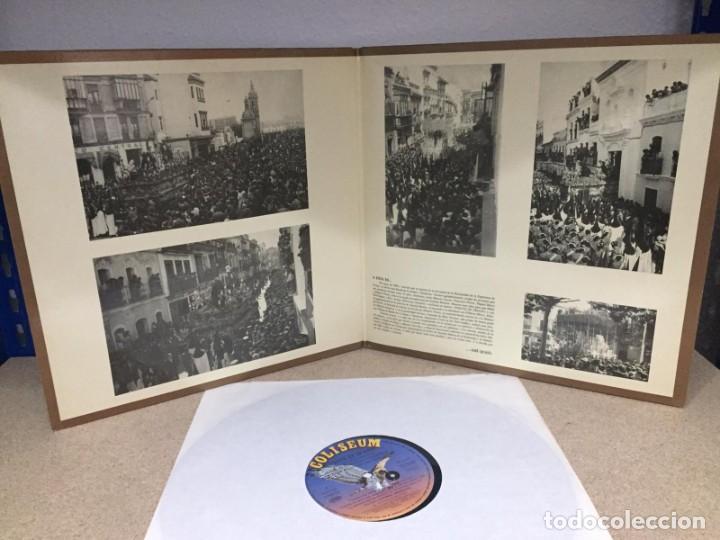 TOQUES DE TRIANA ... BANDA DE CORNETAS Y TAMBORES DEL SANTISIMO CRISTO DE LAS TRES CAIDAS (Música - Discos de Vinilo - Maxi Singles - Bandas Sonoras y Actores)
