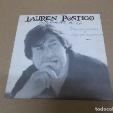 Disques de vinyle: LAUREN POSTIGO (SN) NIÑA TOMASA AÑO – 1990. Lote 204221143