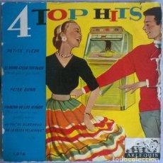 Disques de vinyle: OSCAR CLINTON: CUATRO TOP HITS. PETITE FLEUR/ PETER GUNN/ EL HUMO CIEGA TUS OJOS/ MARCHA DE LOS NIÑO. Lote 204222337