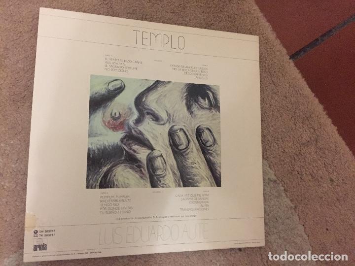 VINILO LUIS EDUARDO AUTE ?– TEMPLO - 2 X VINYL, ALBUM (Música - Discos de Vinilo - Maxi Singles - Cantautores Españoles)
