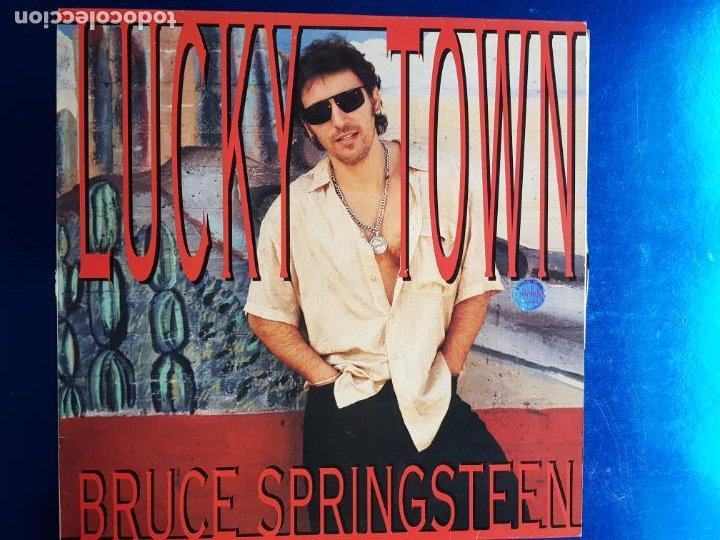 Discos de vinilo: LP-BRUCE SPRINGSTEEN-LUCKY TOWN-1992-EXCELENTE ESTADO-FUNDA-VER FOTOS - Foto 2 - 204224882