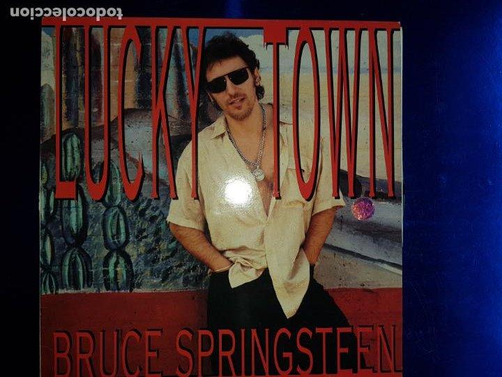 Discos de vinilo: LP-BRUCE SPRINGSTEEN-LUCKY TOWN-1992-EXCELENTE ESTADO-FUNDA-VER FOTOS - Foto 3 - 204224882