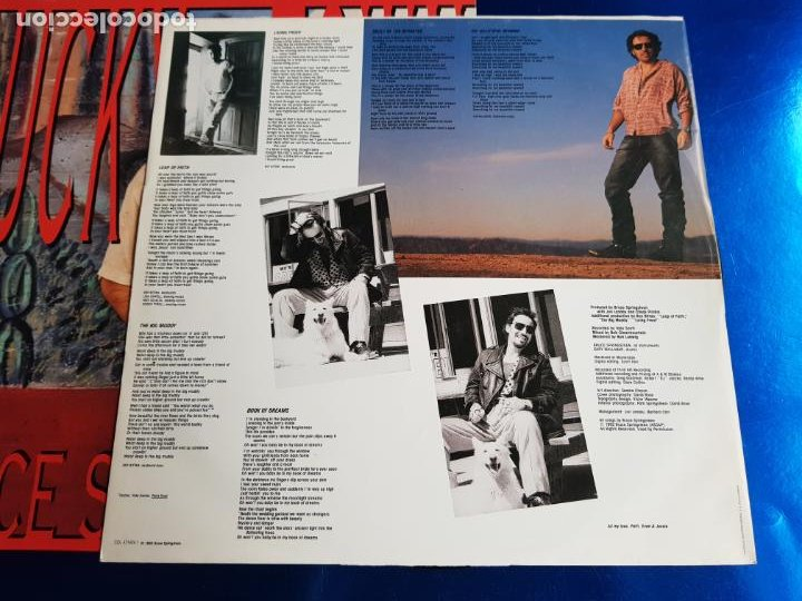 Discos de vinilo: LP-BRUCE SPRINGSTEEN-LUCKY TOWN-1992-EXCELENTE ESTADO-FUNDA-VER FOTOS - Foto 11 - 204224882