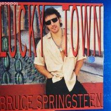 Discos de vinilo: LP-BRUCE SPRINGSTEEN-LUCKY TOWN-1992-EXCELENTE ESTADO-FUNDA-VER FOTOS. Lote 204224882