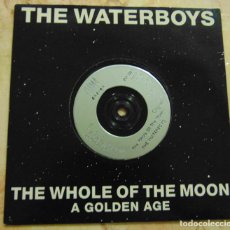 Disques de vinyle: THE WATERBOYS – THE WHOLE OF THE MOON - SINGLE UK SILVER LABELS 1991. Lote 204234980