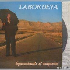 Discos de vinilo: LP. AGUANTANDO EL TEMPORAL. LABORDETA. Lote 204235641