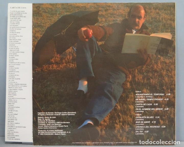 Discos de vinilo: LP. AGUANTANDO EL TEMPORAL. LABORDETA - Foto 2 - 204235641