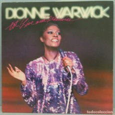Discos de vinilo: LP. DIONNE WARWICK. HOT ! LIVE AND OTHERWISE. Lote 204236246