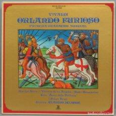 Discos de vinilo: CAJA LP. VIVALDI. ORLANDO FURIOSO. Lote 204236781
