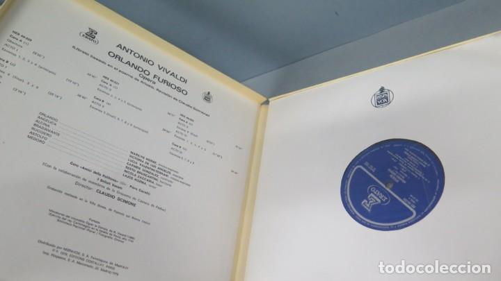 Discos de vinilo: CAJA LP. VIVALDI. ORLANDO FURIOSO - Foto 2 - 204236781