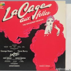 Discos de vinilo: LP. VARIOS. LA CAGE AUX FOLLES. Lote 204237937