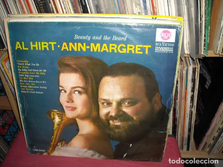 BEANTY AND THE BEARD LP ANN-MARGRET/AL HIRT LP RCA GER (Música - Discos - LP Vinilo - Pop - Rock Internacional de los 50 y 60)