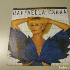 Discos de vinilo: 0520-RAFFAELLA CARRA DOLCE FAR NIENTE 1985 ESP SINGLE VIN 7 POR VG + DIS VG +. Lote 204244797
