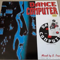 Discos de vinilo: MAXI SINGLE - DANCE COMPUTER - DANCE COMPUTER VOL. 7 - HECHO EN BELGICA - STEFANO PAGANELLI. Lote 204244872