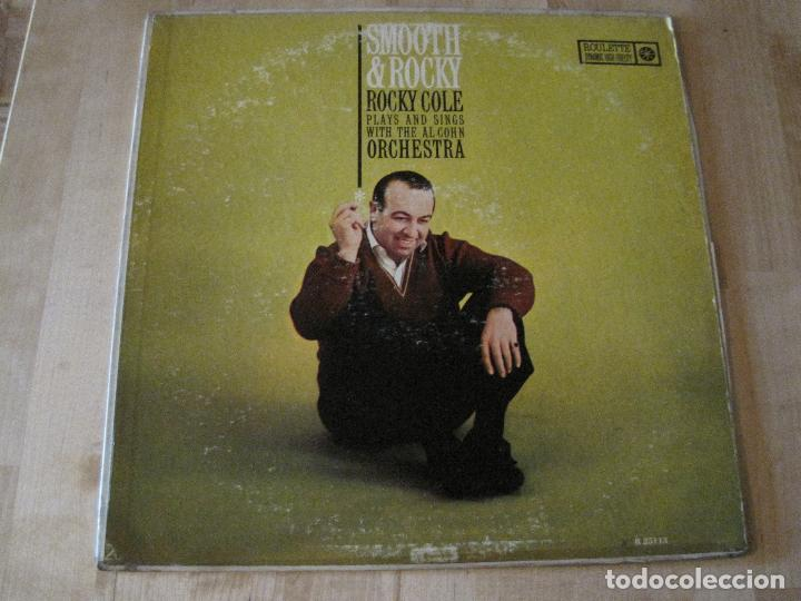 Usado, LP ROCKY COLE SMOOTH & ROCKY WITH AL COHN ROULETTE 25113 USA 1960 JAZZ segunda mano