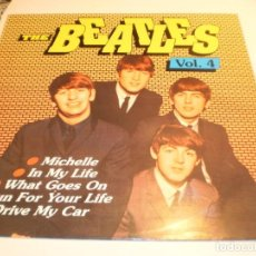 Discos de vinilo: LP THE BEATLES. VOL. 4. BRS 1990 EEC (DISCO PROBADO, BIEN, BUEN ESTADO). Lote 204246540
