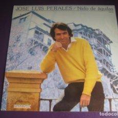 Discos de vinilo: JOSE LUIS PERALES LP HISPAVOX 1981 - NIDO DE ÁGUILAS - SIN APENAS USO. Lote 204252846